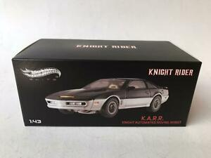 Hot Wheels Elite KNIGHT RIDER K.A.R.R. KNIGHT AUTOMATED ROVING ROBOT 1/43 BCT87