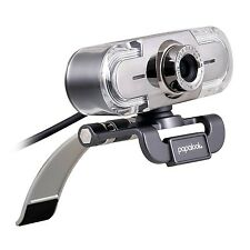 Full HD 1080P Webcam papalook PA452 PC Computer Camera with Colorful LED Ligh...