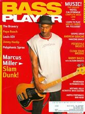 """2005 Bass Player Magazine: Marcus Miller/Barry Bales/Eagles """"Hotel California"""""""