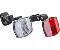 Sunlite Bicycle Reflector Set Front And Rear Light Bike