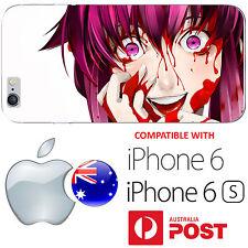 iPhone 6 6S Silicone Case Cover Silicone Mirai Nikki Pink Hair Future Diary AUS