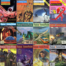 The Magazine of Fantasy & Science Fiction 648 Issues in Pdf Form on 6 Dvds