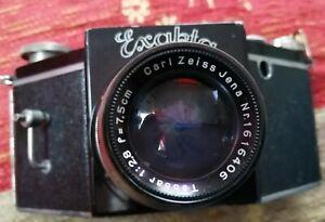 Rare German Ihagee EXAKTA camera wi CZJ lens for spares/repair