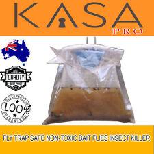 New Fly Trap Safe Non-Toxic Bait Flies Formula Disposable Insect Killer Garden