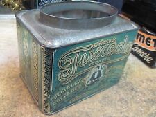 TUXEDO tobacco tin canister CAN 1 LB RARE PATTERSON'S USA AMERICAN JMJ original