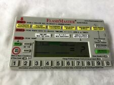 FlashMaster Flash Master Math Tables Learning Activity Electronic Home School
