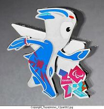 OLYMPIC PINS 2012 LONDON ENGLAND UK MANDEVILLE MASCOT PARALYMPIC