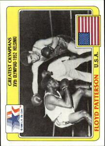 1983 Topps History's Greatest Olympians #77 Floyd Patterson