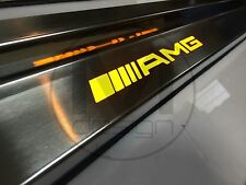 AMG Door Sill Panels with LED for Mercedes Benz E-Class W124 HQ SE