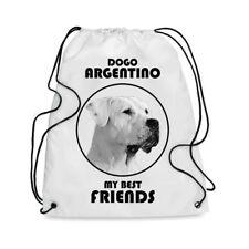 Borsa Sacca cane DOGO ARGENTINO MY BEST FRIEND