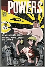 POWERS VOL 1 #4 IMAGE 2000 RETRO GIRL STORY SIGNED BY BRIAN MICHAEL BENDIS VF/NM