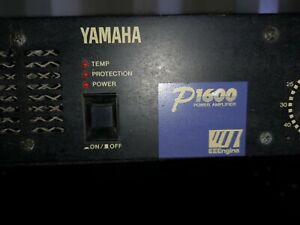 Yamaha P1600 Power Amplifier