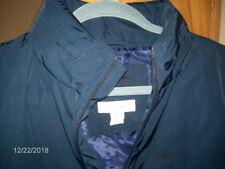 Calvin Klein Lifestyle Full Zip Hooded Jacket Windbreaker Navy Men's Sz M $98