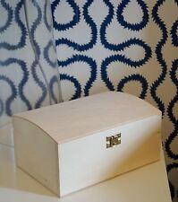 Wooden Treasure Chest Box Craft Pirate Decoupage stocking filler xmas