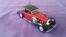 Véhicule Miniature « Delage D8 120» 1939 Solido 1/43 En Très Bon Etat