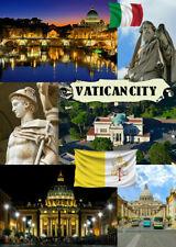 VATICAN CITY, ROME, ITALY - SOUVENIR NOVELTY FRIDGE MAGNET, SIGHTS / GIFTS - NEW