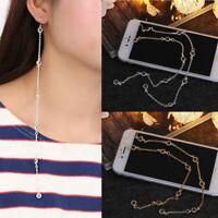 pendentif chaîne des bijoux crystal or / argenté boucles d'oreille pierre