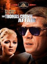 The Thomas Crown Affair (DVD,1999)*RARE**STEVE McQUEEN,FAYE DUNAWAY IN '68 MOVIE