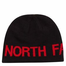 The North Face Black RedAdult Unisex One Size Reversible Banner Beanie 391