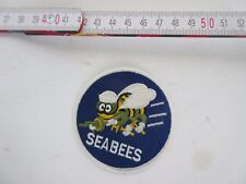US Army Seabees Naval Construction Battalion PATCH RICAMATE wk2 WWII USMC Navy 2