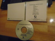 RARE ADV PROMO Professional Murder Music CD Human Waste Project FAILURE Cure cvr
