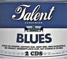 TALENT BLUES - 30 ORIGINAL SONGS - VARIOUS ARTISTS(NEW 2CD )