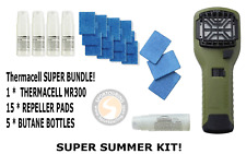 THERMACELL MOSQUITO REPELLANT - SUPER BUNDLE - BLACK
