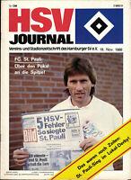 DFB-Pokal 86/87 Hamburger SV - FC St. Pauli, 19.11.1986