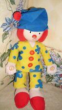"Disney Bedtime Talking Jojo's Circus Clown Plush 15"""