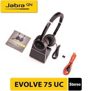 Jabra Evolve 75 Wireless Noise-canceling Headset - NIB