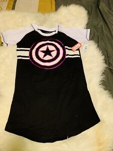 Marvel Avengers Sleep Shirt NEW Size SMALL