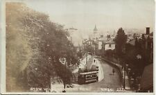 Newport. Stow Hill # 5551 by WWC. Tram.