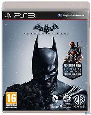 Batman Arkham Origins PS3  CASTELLANO  NUEVO PRECINTADO ESPA�'OL