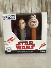PEZ STAR WARS THE FORCE AWAKENS REY AND BB8 SET