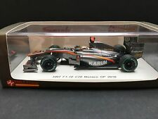 Spark - Karun Chandhok - HRT - F1-10 - 2010 - Monaco GP - Very Rare