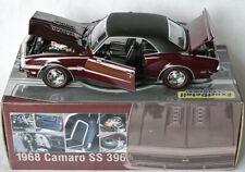 Exact Details 221 - 1968 CHEVY CAMARO RS/SS 396 - maroon/vinyl - 1:18 lim.Ed