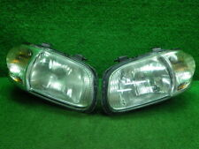 JDM 2003 Suzuki ALTO HA23S Halogen Headlights Lights Lamps Pair set OEM