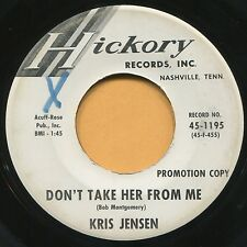 KRIS JENSEN (Claudette / Don't Take Her From Me)  ROCKABILLY 45 RPM  RECORD