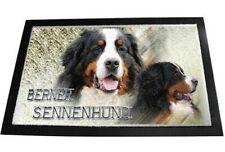 Designer Fußmatte Berner Sennenhund 2 Bernersennenhund Fussabtreter Hundetepich