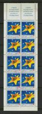 Timbres avec 10 timbres sur la croix-rouge