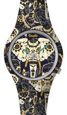DOODLE WATCH ☯ Armbanduhr Ø 39mm   Silikon   ASIAN ELEPHANT > DOOR002