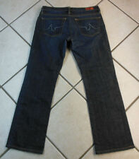 """ADRIANO GOLDSCHMIED """"THE KISS"""" (EUC) BOOTCUT WOMENS BLUE JEANS SIZE 30 INSEAM 29"""