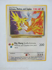 Pokemon Oversized Jumbo Promo Card Articuno Moltres and Zapdos LEGENDARY BIRDS