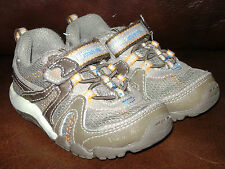 STRIDE RITE BABY PALMER TODDLER BOYS SHOES size 4.5 M BROWN TAN LEATHER