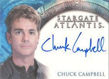 "Stargate Atlantis Heroes - Chuck Campbell ""Chuck"" Auto / Autograph Card"