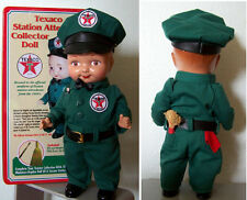 "TEXACO  OIL CO.13""  STATION ATTENDANT BUDDY LEE DOLL w/  COLLECTIBLE TIN"