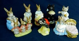 Vintage Beswick & Royal Albert Beatrix Potter Figures Various Backstamps Choose