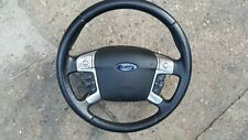 FORD GALAXY GHIA ,S-MAX TITANIUM MULTI FUNCTION LEATHER STEERING WHEEL