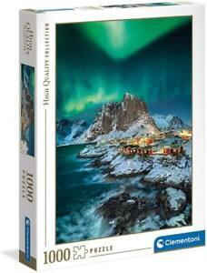 Clementoni 39601 Lofoten Islands 1000 Teile Puzzle High Quality Collection