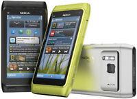 """Nokia N Series N8-00 Unlocked 12MP 3G GPS WIFI 3.5"""" Smartphone Multi Color"""